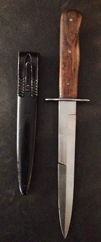 Luftwaffe Kampfmesser