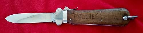 Paratrooper knife Weyersberg