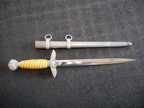 Minty 2nd pattern luftwaffe dagger