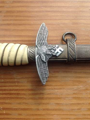 Any thoughts on this 2nd Model Luftwaffe dagger?