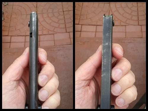 Luger Clip FXO 37 Plastic