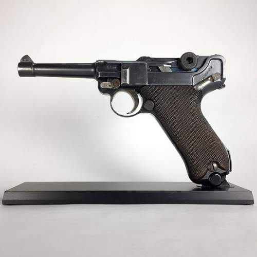 Magslab Pistolstand for Luger P08