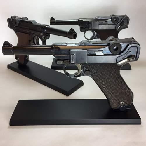 Magslab Pistolstand for Luger P08