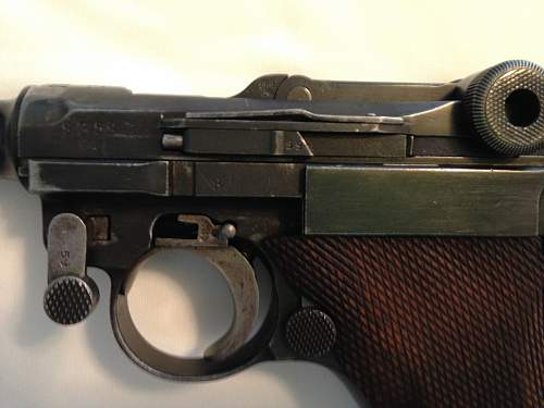 Need Help on 1917 P08 Luger