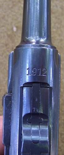 1912 Erfurt Luger