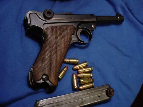 30cal DWM luger vs BYF 9mm no comparison