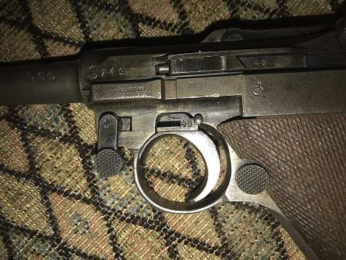 Identify this Luger