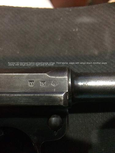 New to Forum Have 1938 S/42 P.08 Luger can't take pictures
