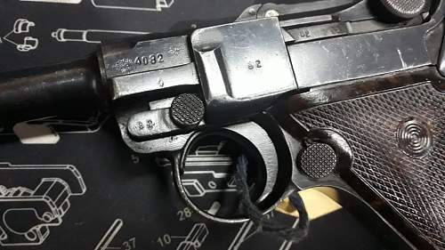 Info needed on this Luger