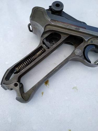 1939 P08 Luger