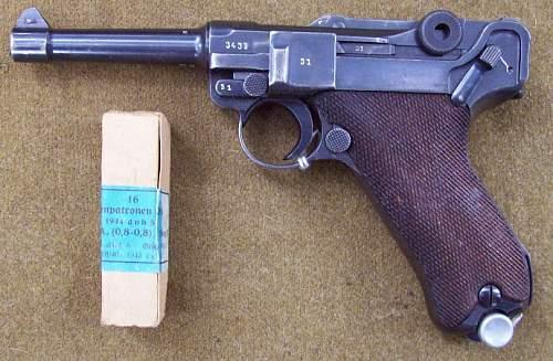 Mauser code (42) 1940 Luger