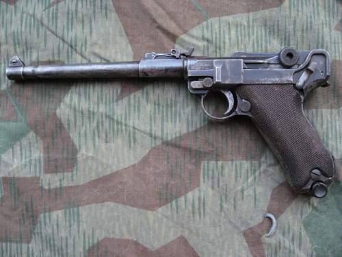 WW1 Artillery Luger