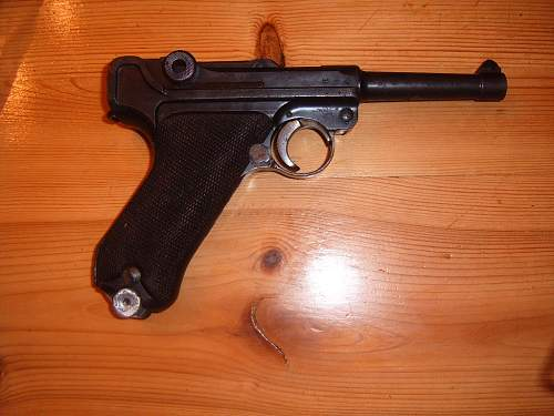 luger arived today