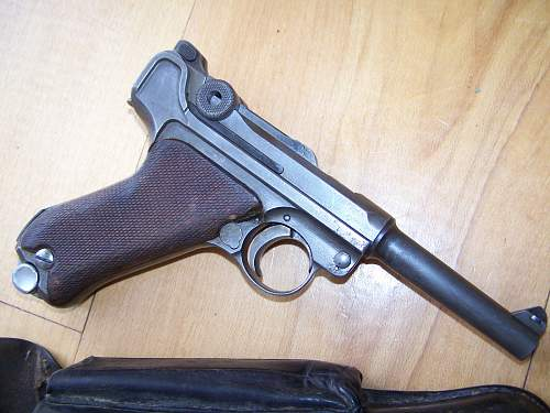 Need help with value on this WWI 1917 Navy Luger DWM