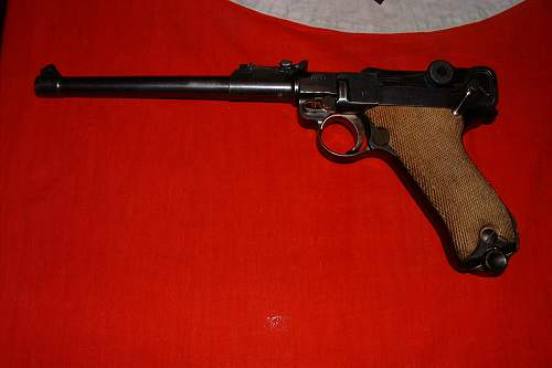 Artillery luger from Jersey, Channel Islands
