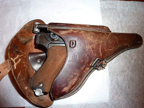 Yesterday I inherited a 1936 Luger. I'm still in awe and would very much appreciate any insight into the markings.