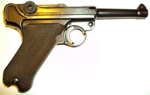What may be a complete as issued rig for a nice BYF 42 Luger. Everything correct and included.