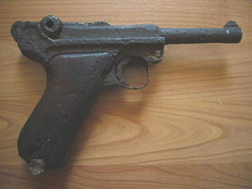 A relic Luger