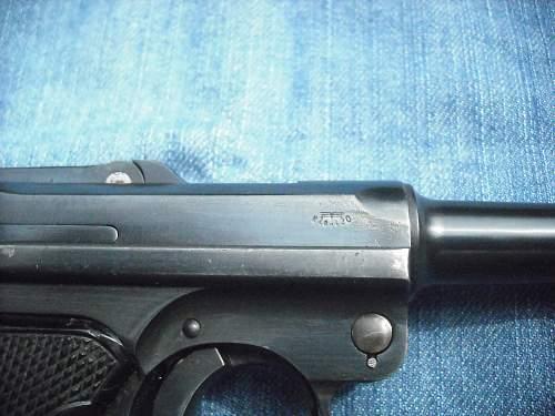 1917 DWM Luger