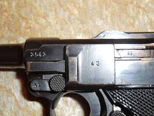 1941 byf luger with holster