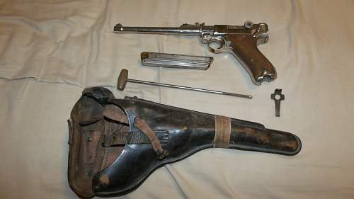 Any idea of the Value of 1917 Luger?