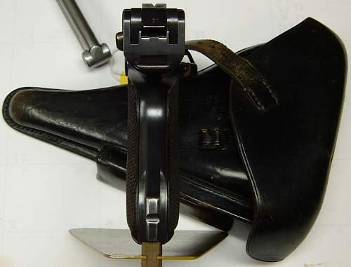 1934 Mauser K Date Luger