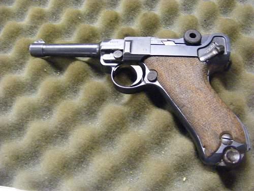 1915 Deaths Head Luger