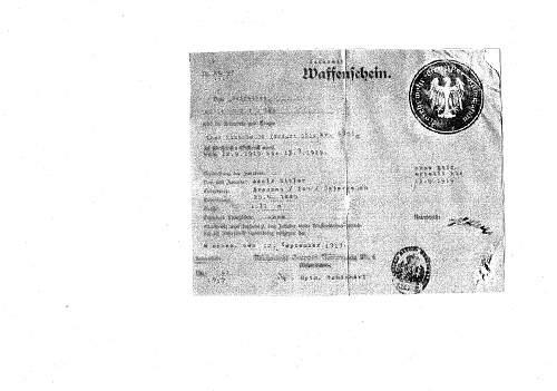 Click image for larger version.  Name:Hitlers signatur for pistol  Luger 08 jpeg  warrelics.jpg Views:752 Size:212.7 KB ID:454027