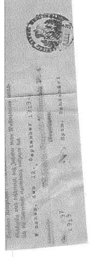 Hitlers signatur for pistol 08