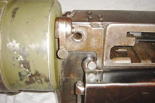 So, who wants to see my interwar MG08 squeeze trigger assembly?