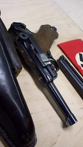 1941:42 code Mauser P.08