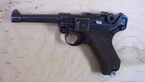 1939:42 Code Mauser P.08