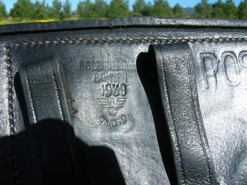 Holster P08 genuine or replica?