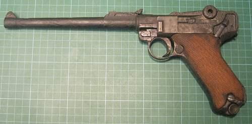WW1 Artillery Luger - legit ?