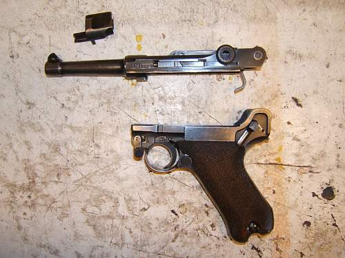 Tell me something about this luger