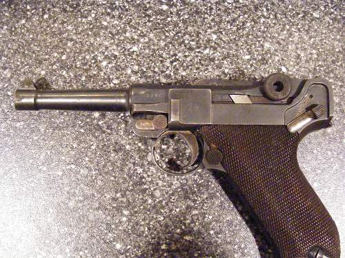 Just got this Luger