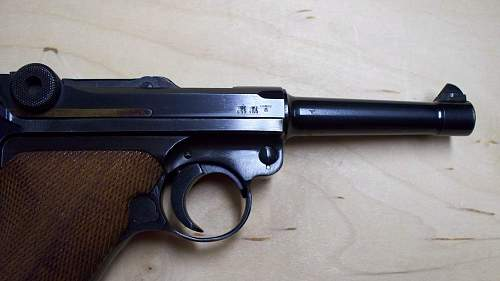 My New Sweetheart:1940 42 code Luger