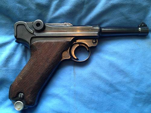 1940 Dated Mauser P 08