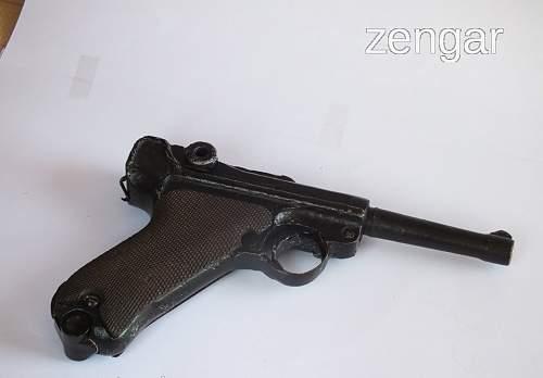 German P08 Luger Original