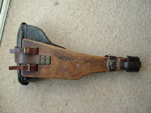 1917 Artillery Luger &  Rig