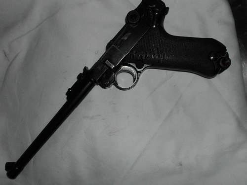 P08 Artillery Pattern Luger 1917 DWM