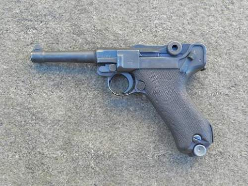 Unit marked Luger