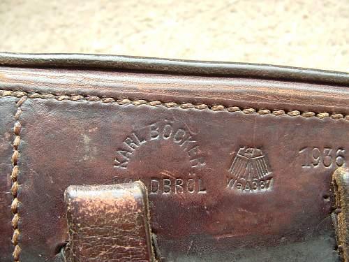 1936 Matching Luger