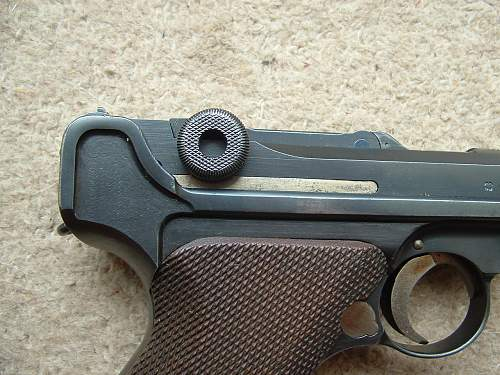 1936 Matching Luger