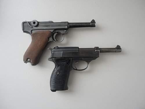 Couple Matching Pistols