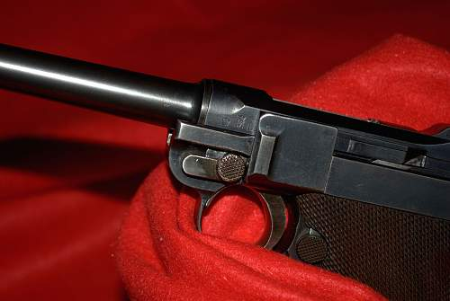 My favorite 1906 Navy Luger