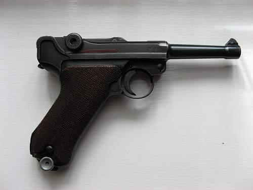My Mauser Luger 1940