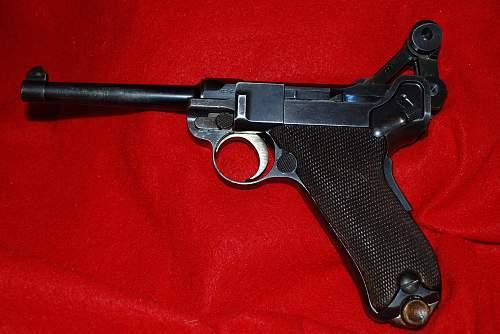 1900 Comm.DWM Luger