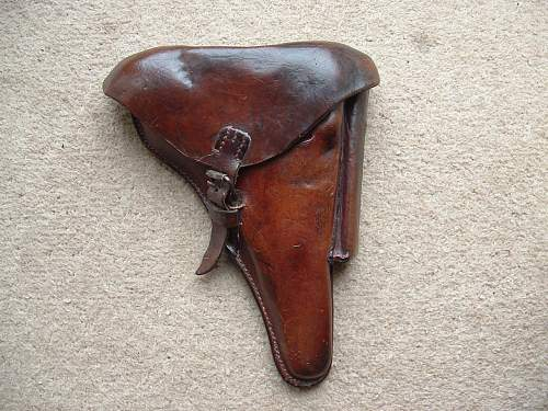 Click image for larger version.  Name:1918 Luger Holster 001.jpg Views:115 Size:187.3 KB ID:592457