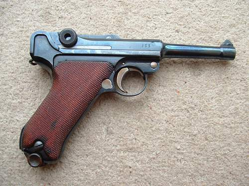 1918 Luger